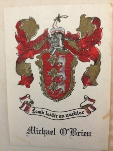 Daddy's bookplate